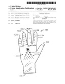 Glove With Calibrated Markings diagram and image