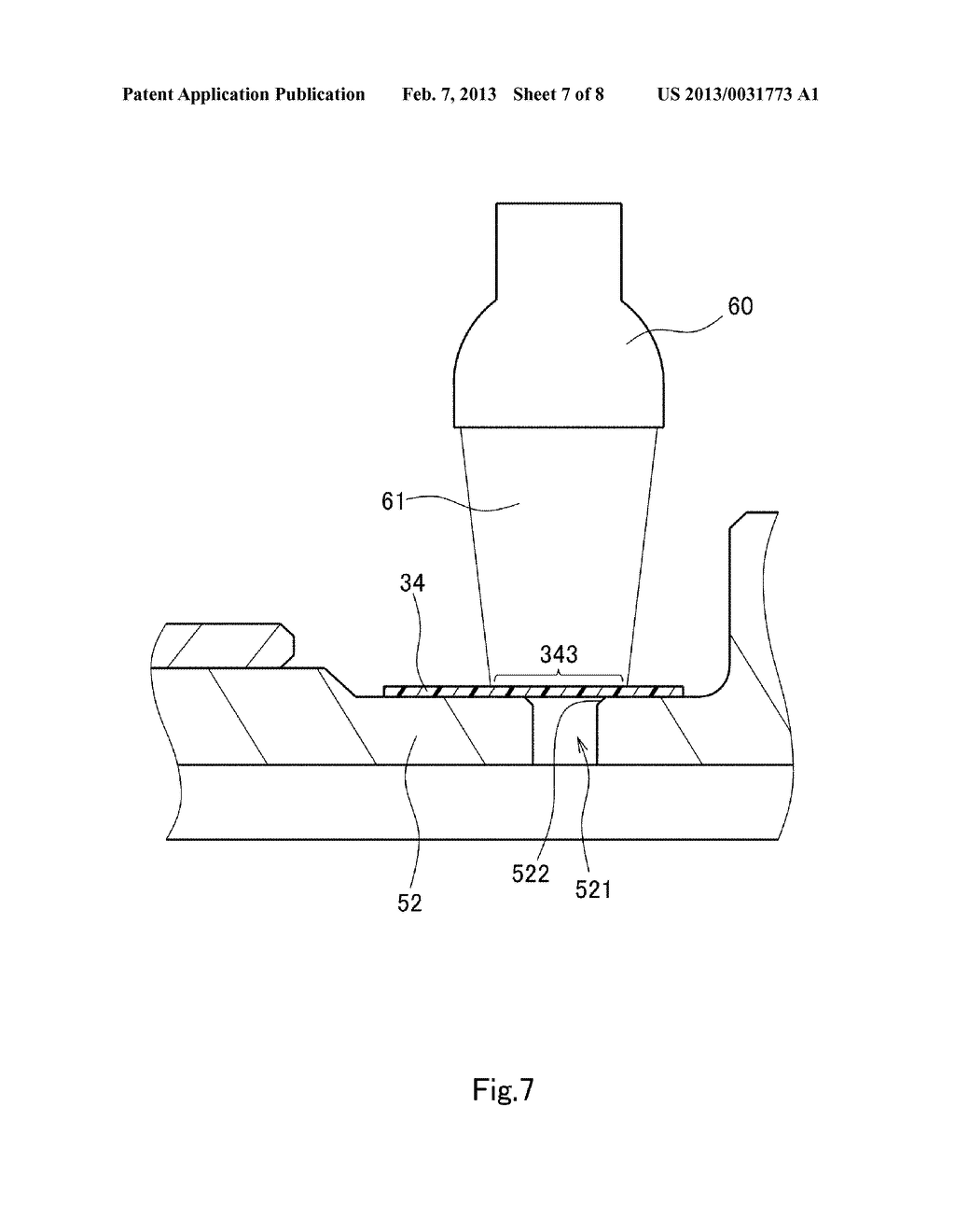 SPINDLE MOTOR, DISK DRIVE APPARATUS, AND METHOD OF MANUFACTURING SPINDLE     MOTOR - diagram, schematic, and image 08