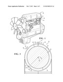 TWO-PIECE COMPRESSION PISTON RING OF AN INTERNAL COMBUSTION ENGINE diagram and image