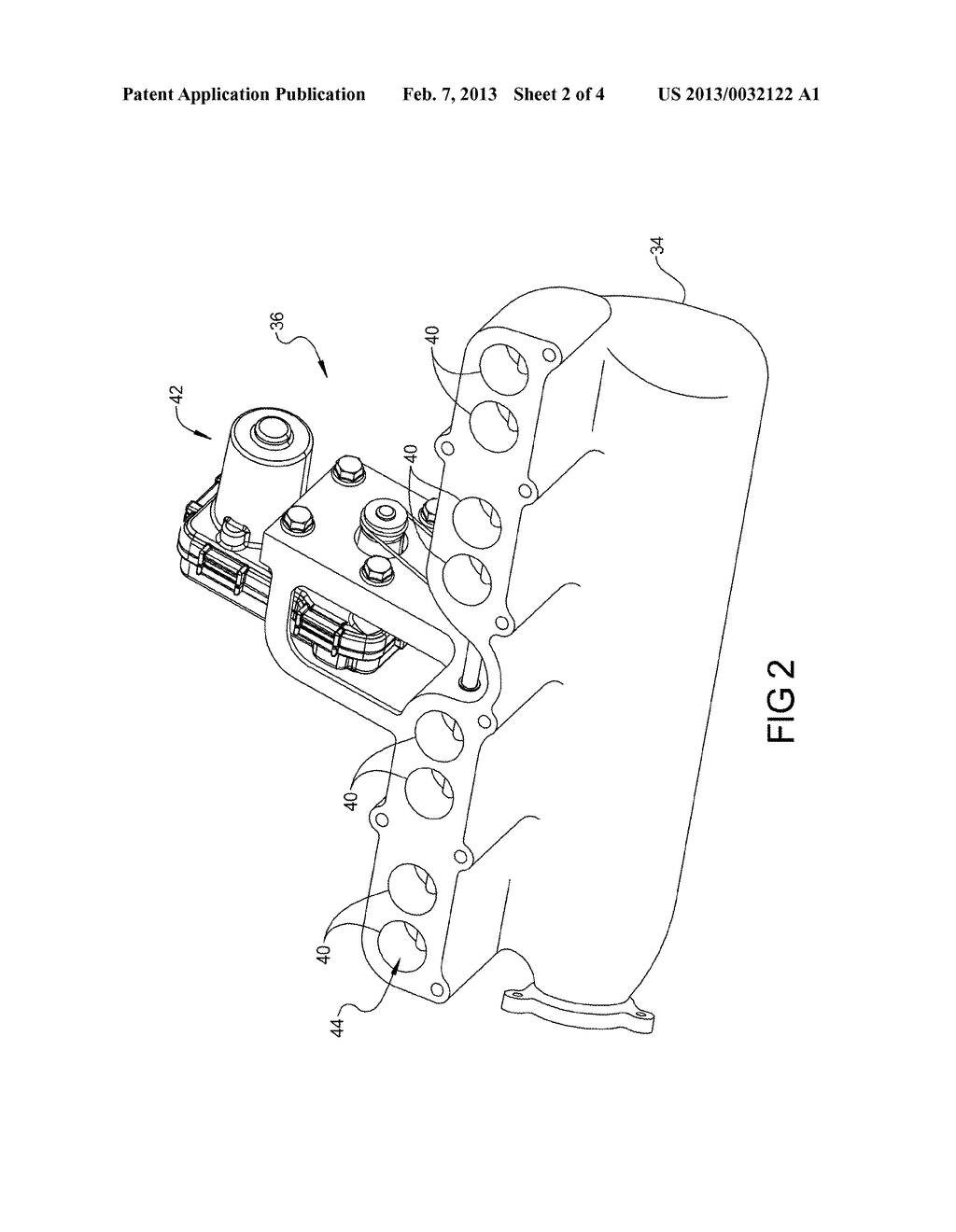 ENGINE INCLUDING INTAKE AIR FLOW CONTROL ASSEMBLY - diagram, schematic, and image 03
