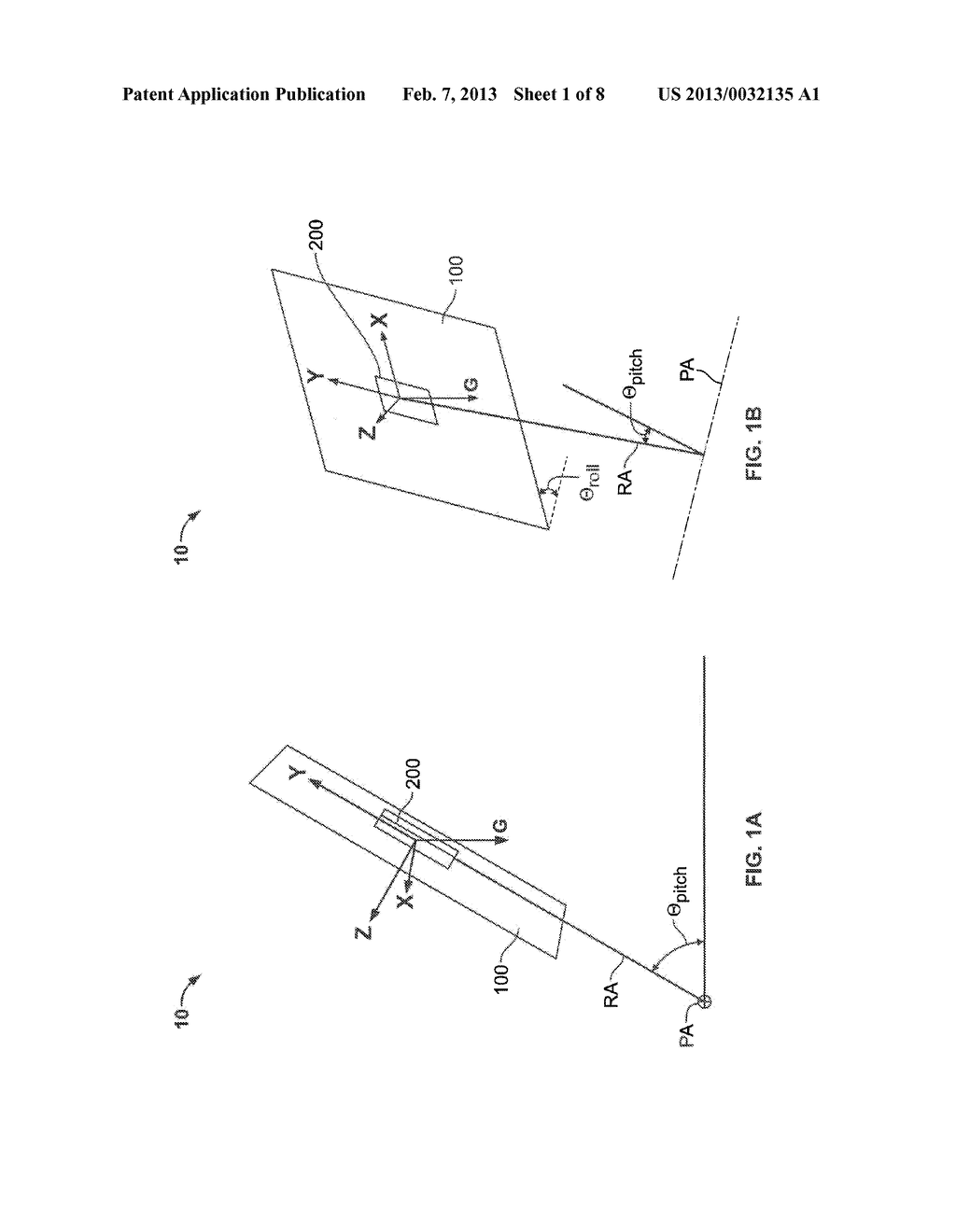 Apparatuses and Methods for Determining and Changing the Orientation of     Solar Energy Capture Devices - diagram, schematic, and image 02