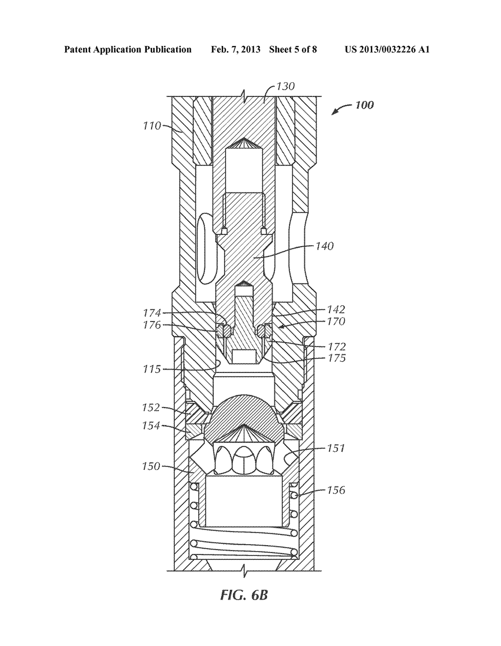 gas lift valve having edge-welded bellows and captive sliding seal - diagram,  schematic, and image 06