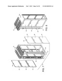TRANSPORTABLE, ENVIRONMENTALLY-CONTROLLED EQUIPMENT ENCLOSURE diagram and image