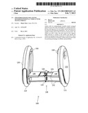 TWO-WHEELED SELF-BALANCING MOTORIZED PERSONAL VEHICLE WITH TILTING WHEELS diagram and image
