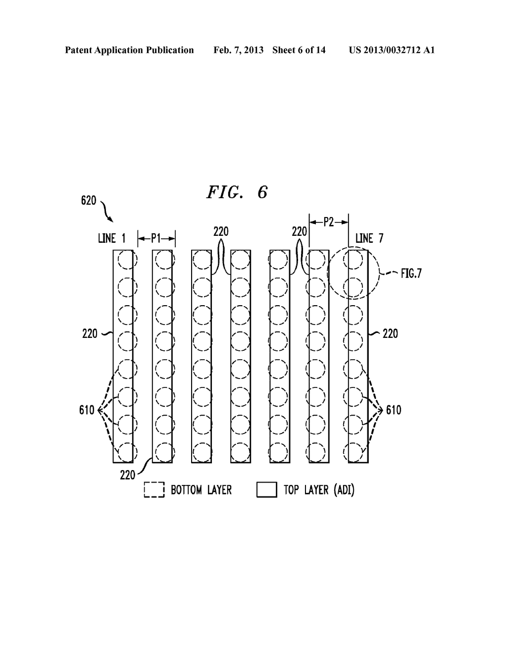 OVERLAY ALIGNMENT MARK AND METHOD OF DETECTING OVERLAY ALIGNMENT ERROR     USING THE MARK - diagram, schematic, and image 07