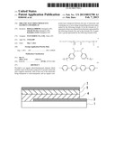 ORGANIC ELECTROLUMINESCENT ELEMENT AND DISPLAY diagram and image