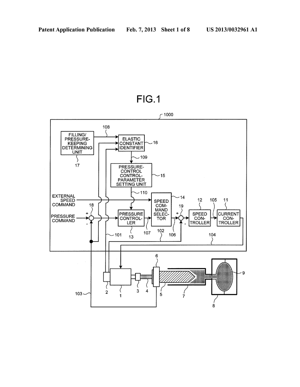 CONTROL DEVICE AND CONTROL METHOD FOR INJECTION MOLDING MACHINE - diagram, schematic, and image 02