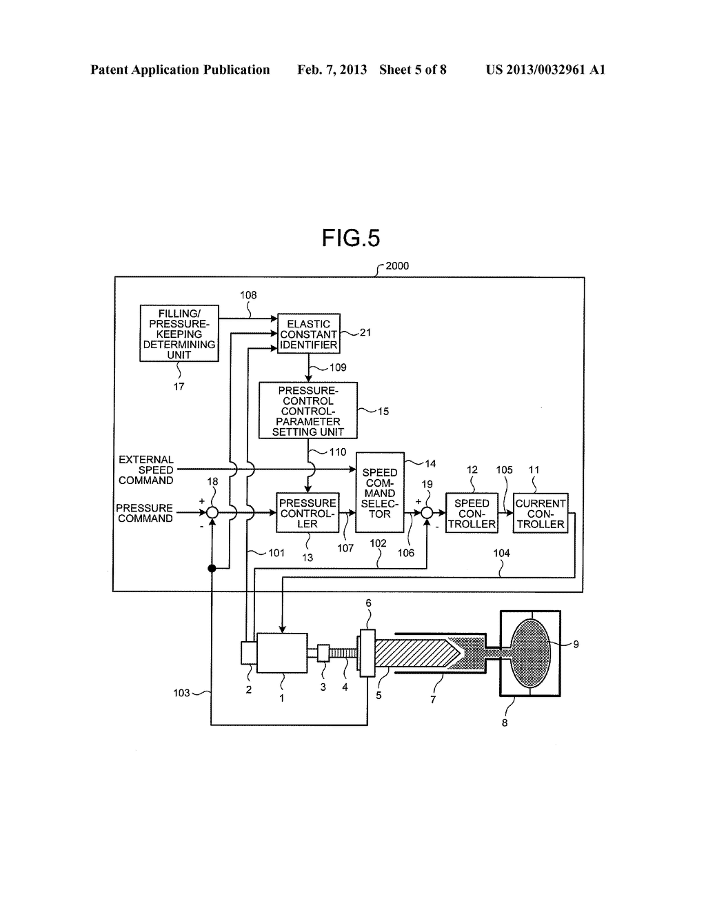 CONTROL DEVICE AND CONTROL METHOD FOR INJECTION MOLDING MACHINE - diagram, schematic, and image 06