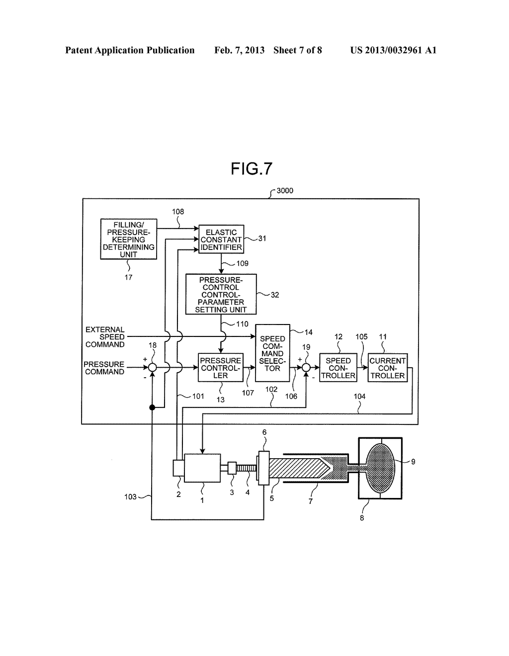 CONTROL DEVICE AND CONTROL METHOD FOR INJECTION MOLDING MACHINE - diagram, schematic, and image 08