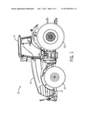 Adjustable Suspension System For A Work Vehicle diagram and image