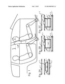 SAFETY DEVICE FOR A MOTOR VEHICLE diagram and image