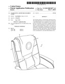 CHAIR HAVING A REMOVABLE HEADREST COVER diagram and image