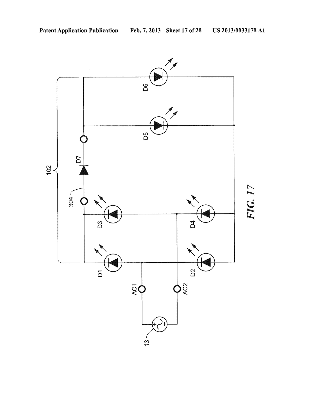 SOLID STATE LED BRIDGE RECTIFIER LIGHT ENGINE - diagram, schematic, and  image 18