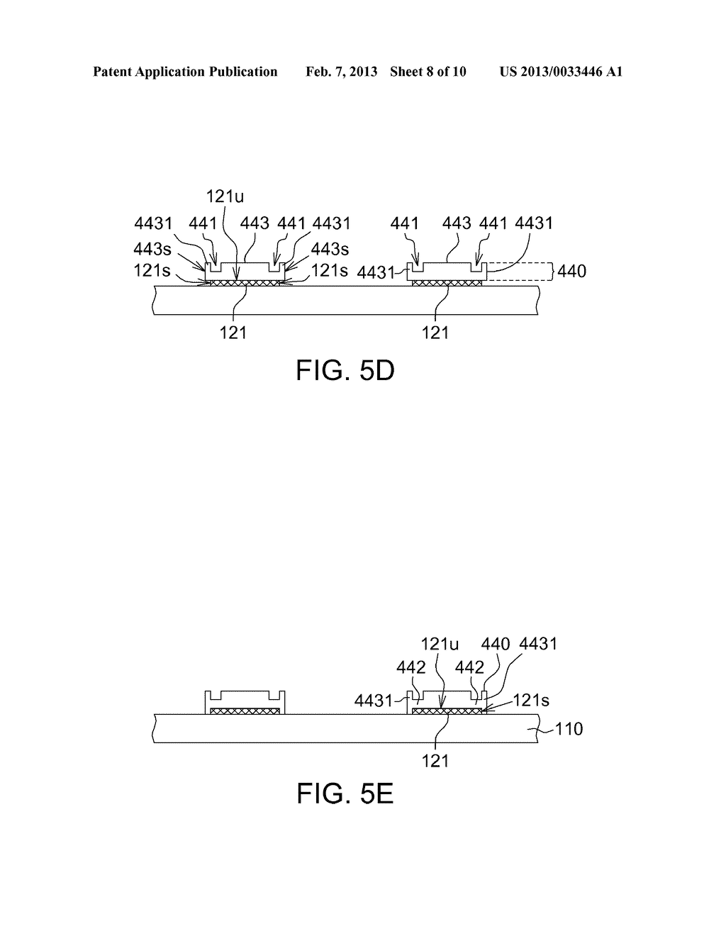 TOUCH PANEL, TOUCH DISPLAY APPARATUS USING THE SAME AND MANUFACTURING     METHOD THEREOF - diagram, schematic, and image 09