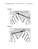 TOUCH-PANEL INPUT DEVICE diagram and image