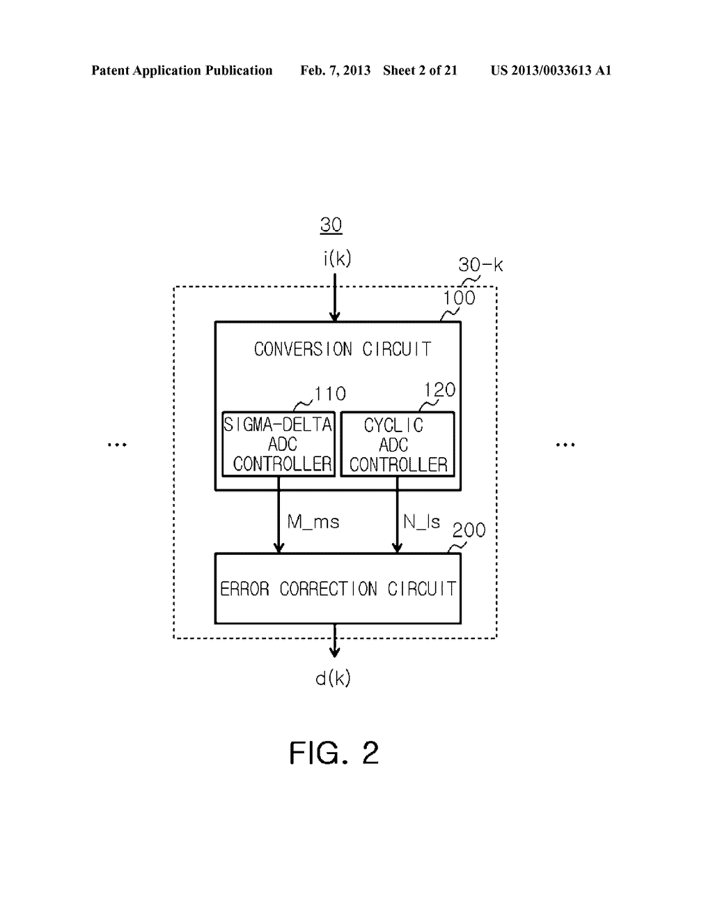 ANALOG-TO-DIGITAL CONVERTER, IMAGE SENSOR INCLUDING THE SAME, AND     APPARATUS INCLUDING IMAGE SENSOR - diagram, schematic, and image 03