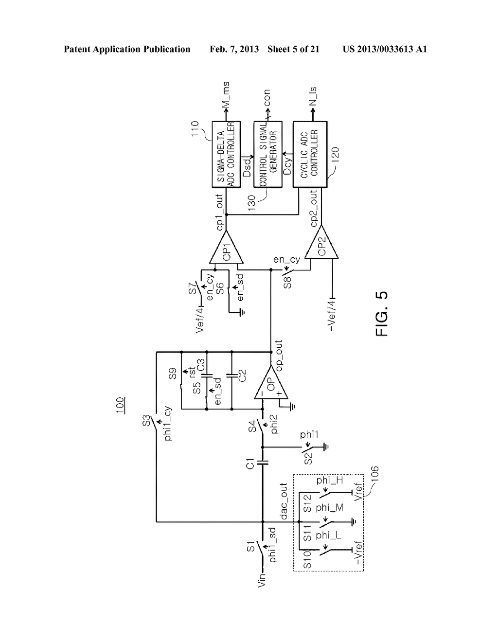 ANALOG-TO-DIGITAL CONVERTER, IMAGE SENSOR INCLUDING THE SAME, AND     APPARATUS INCLUDING IMAGE SENSOR - diagram, schematic, and image 06