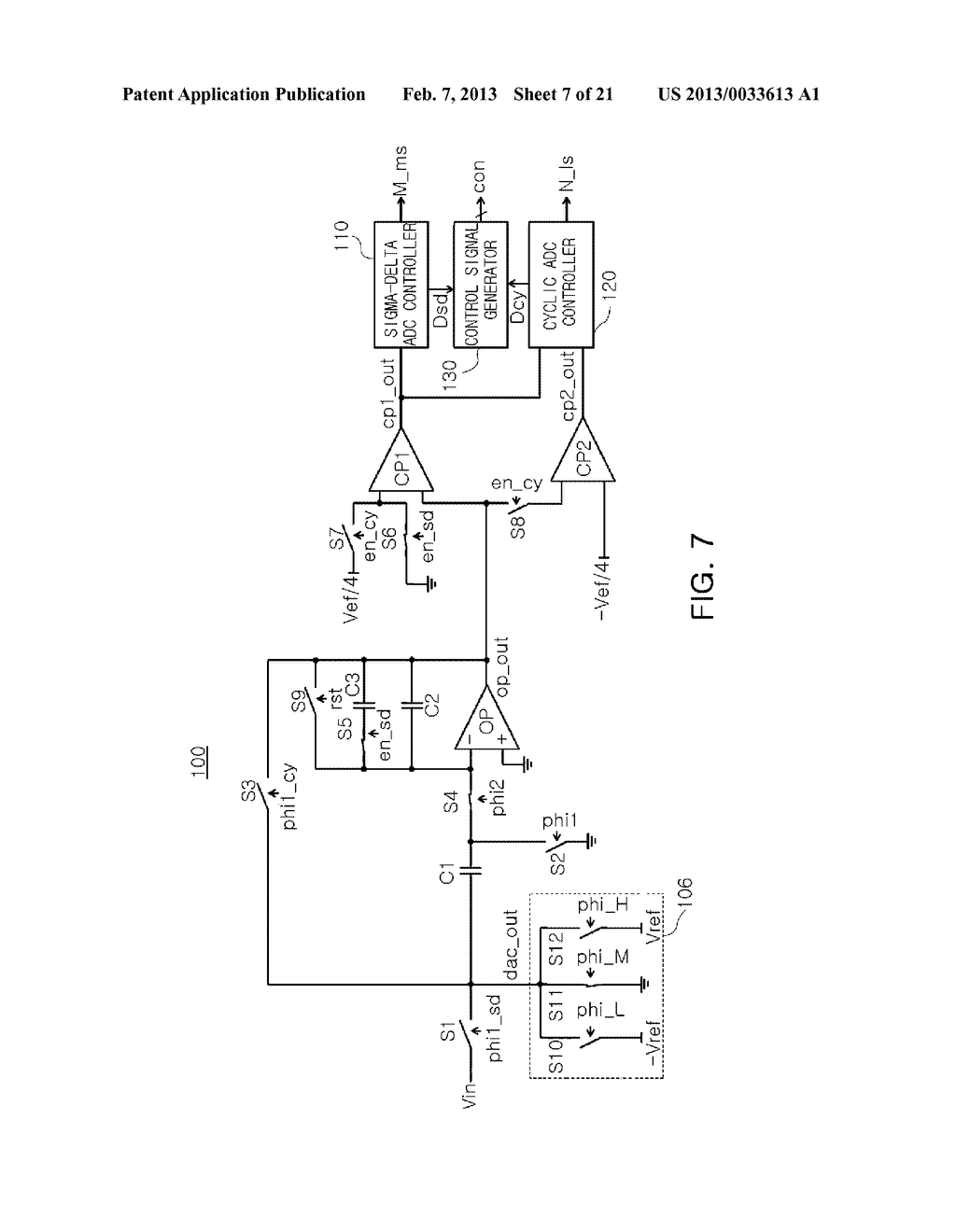 ANALOG-TO-DIGITAL CONVERTER, IMAGE SENSOR INCLUDING THE SAME, AND     APPARATUS INCLUDING IMAGE SENSOR - diagram, schematic, and image 08