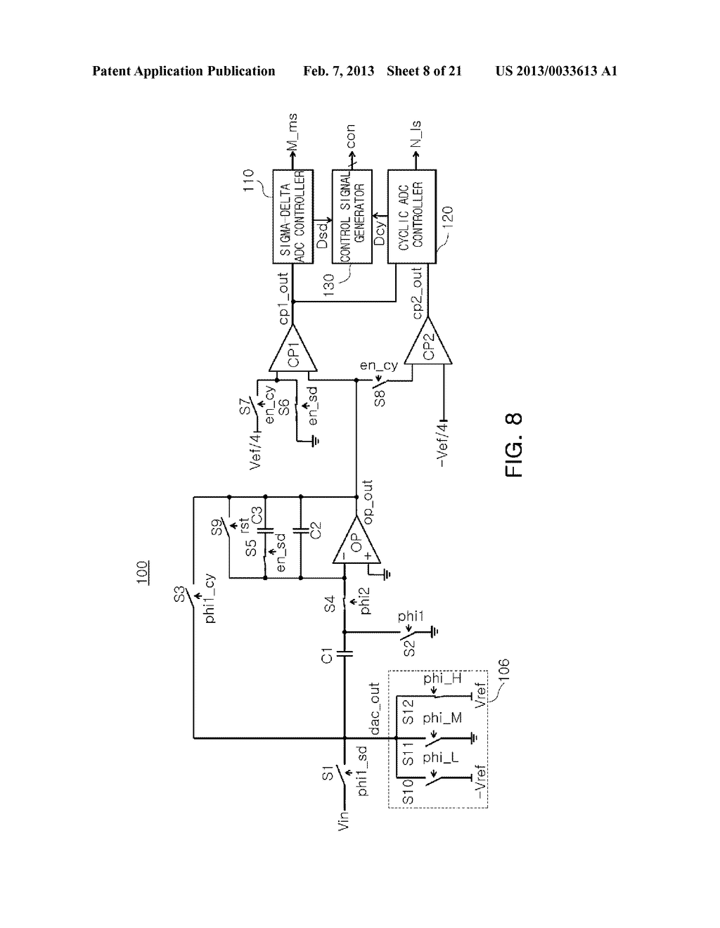 ANALOG-TO-DIGITAL CONVERTER, IMAGE SENSOR INCLUDING THE SAME, AND     APPARATUS INCLUDING IMAGE SENSOR - diagram, schematic, and image 09