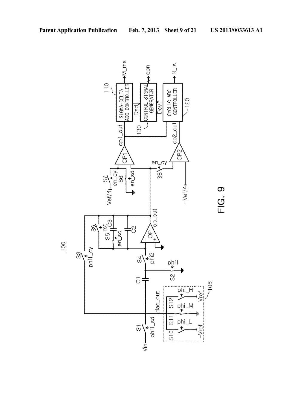 ANALOG-TO-DIGITAL CONVERTER, IMAGE SENSOR INCLUDING THE SAME, AND     APPARATUS INCLUDING IMAGE SENSOR - diagram, schematic, and image 10