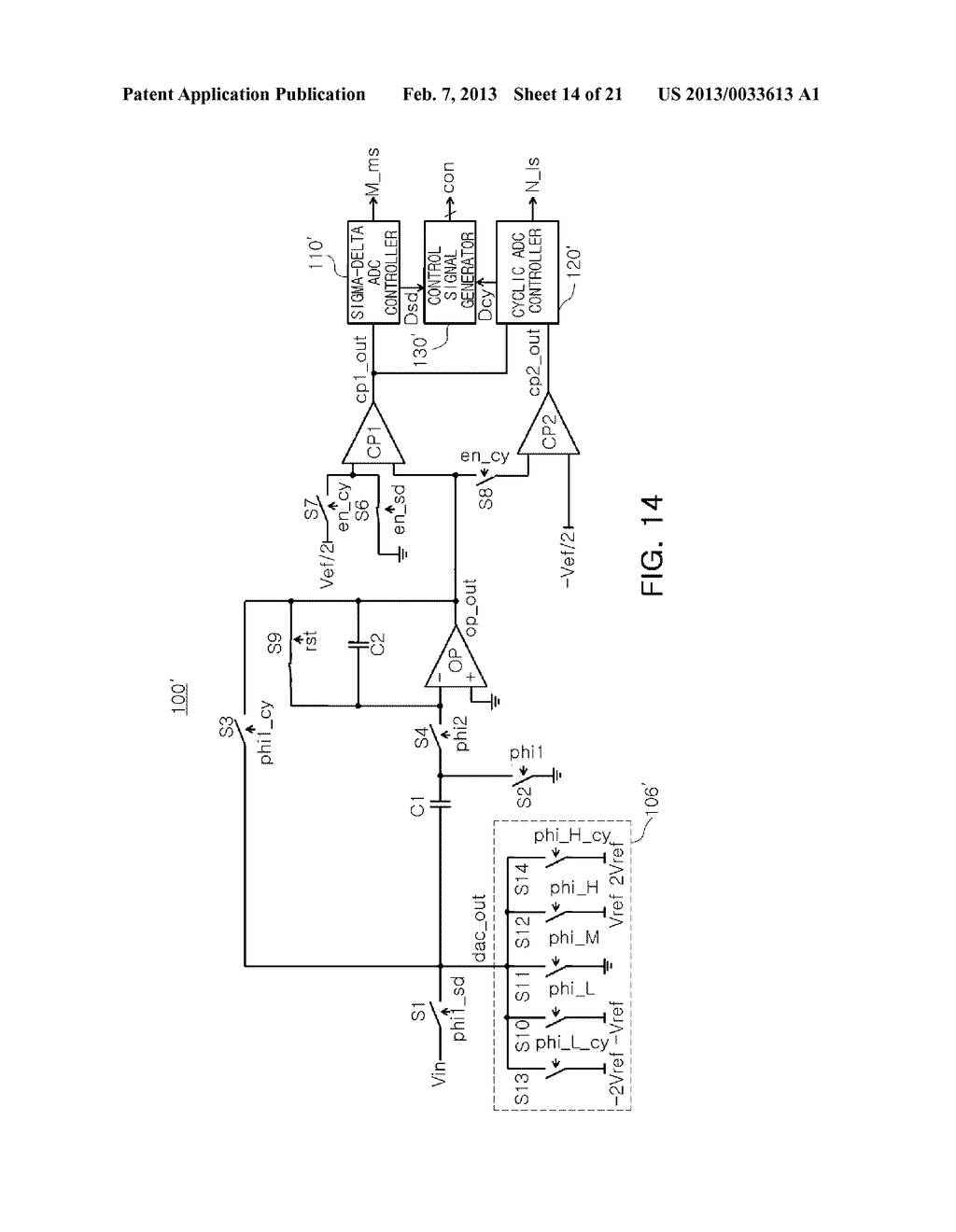 ANALOG-TO-DIGITAL CONVERTER, IMAGE SENSOR INCLUDING THE SAME, AND     APPARATUS INCLUDING IMAGE SENSOR - diagram, schematic, and image 15