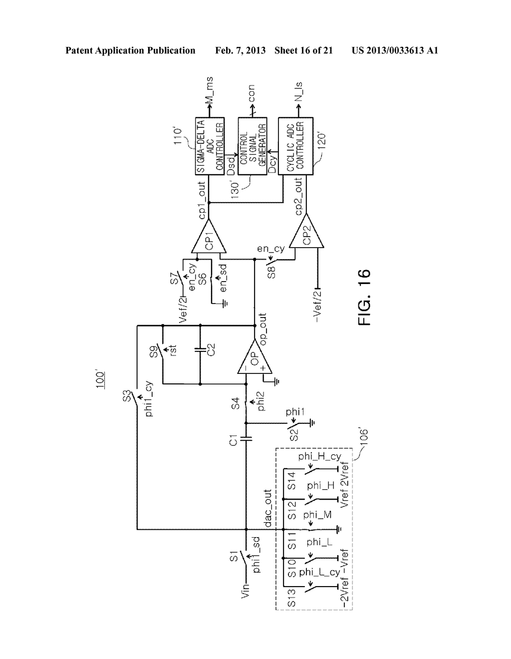 ANALOG-TO-DIGITAL CONVERTER, IMAGE SENSOR INCLUDING THE SAME, AND     APPARATUS INCLUDING IMAGE SENSOR - diagram, schematic, and image 17