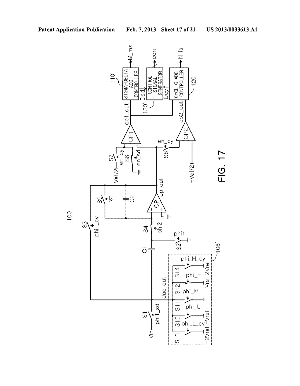ANALOG-TO-DIGITAL CONVERTER, IMAGE SENSOR INCLUDING THE SAME, AND     APPARATUS INCLUDING IMAGE SENSOR - diagram, schematic, and image 18