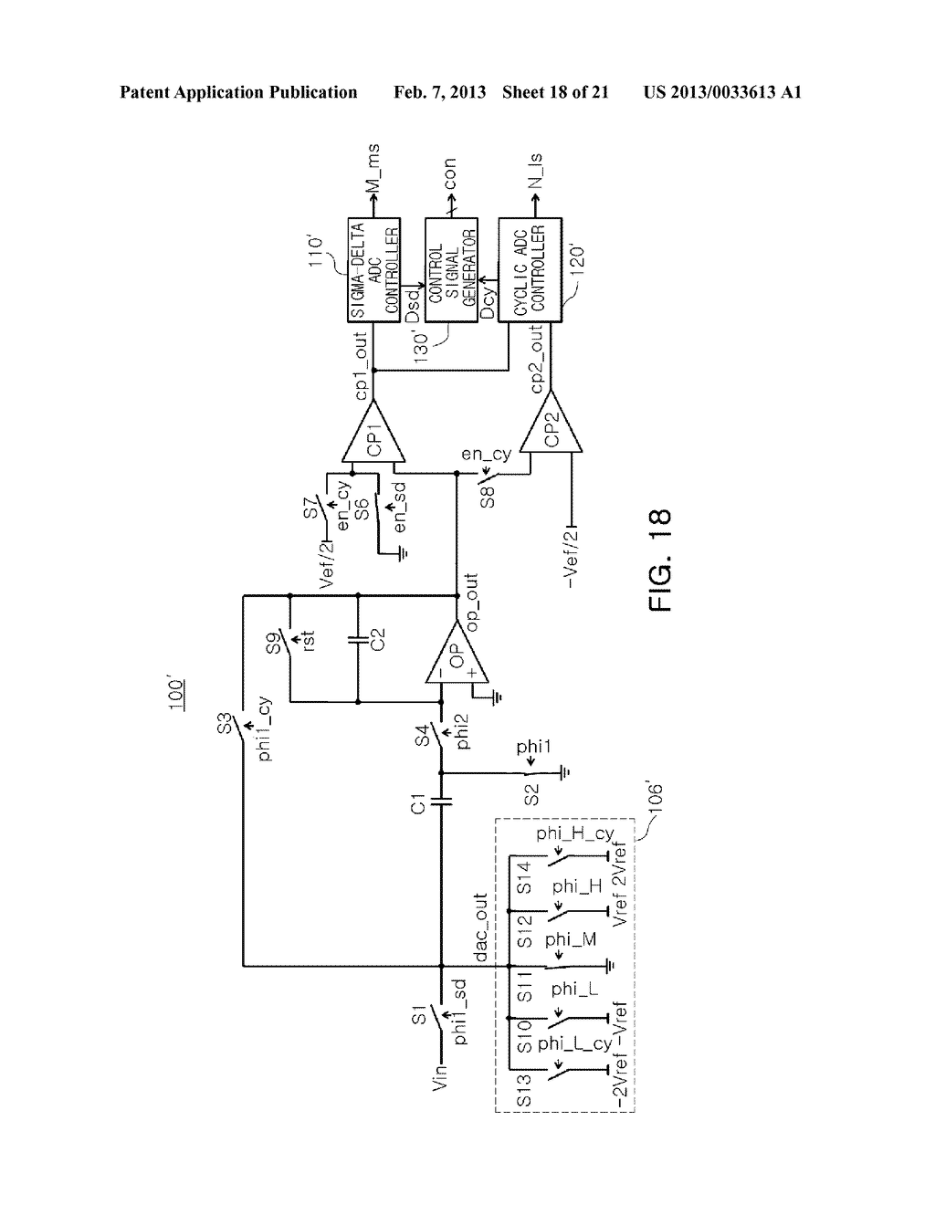 ANALOG-TO-DIGITAL CONVERTER, IMAGE SENSOR INCLUDING THE SAME, AND     APPARATUS INCLUDING IMAGE SENSOR - diagram, schematic, and image 19