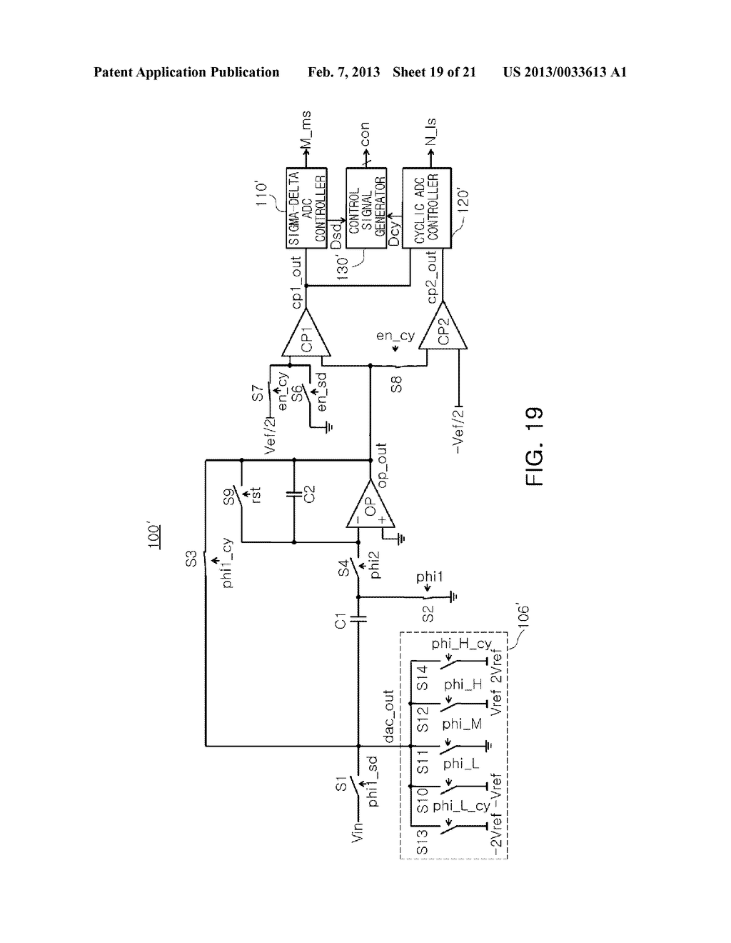 ANALOG-TO-DIGITAL CONVERTER, IMAGE SENSOR INCLUDING THE SAME, AND     APPARATUS INCLUDING IMAGE SENSOR - diagram, schematic, and image 20