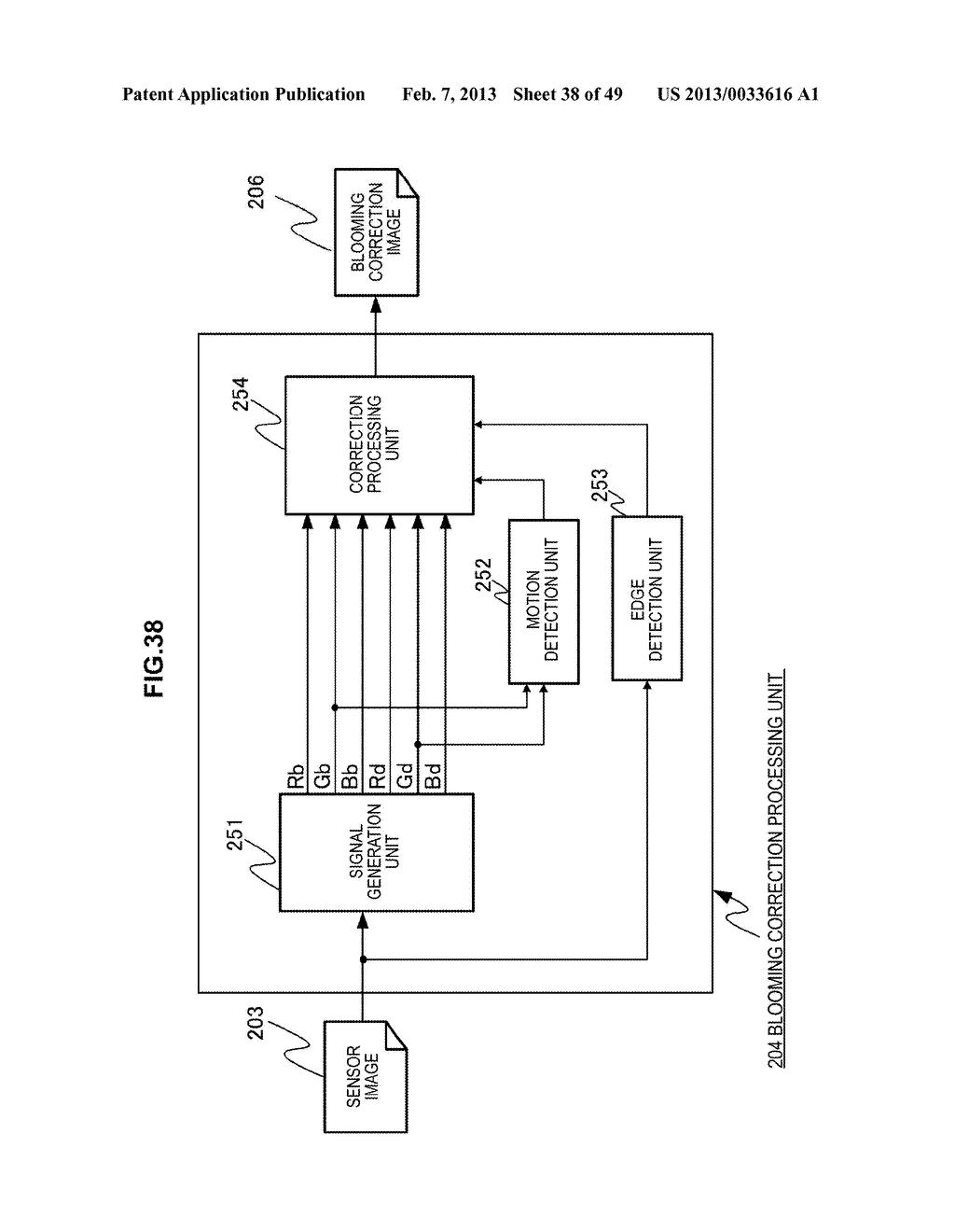IMAGING DEVICE, IMAGE PROCESSING METHOD AND PROGRAM - diagram, schematic, and image 39