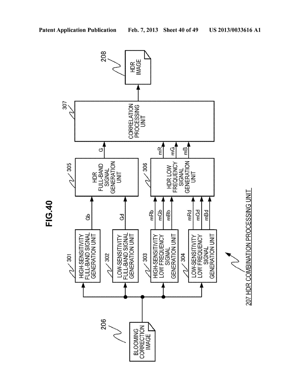 IMAGING DEVICE, IMAGE PROCESSING METHOD AND PROGRAM - diagram, schematic, and image 41