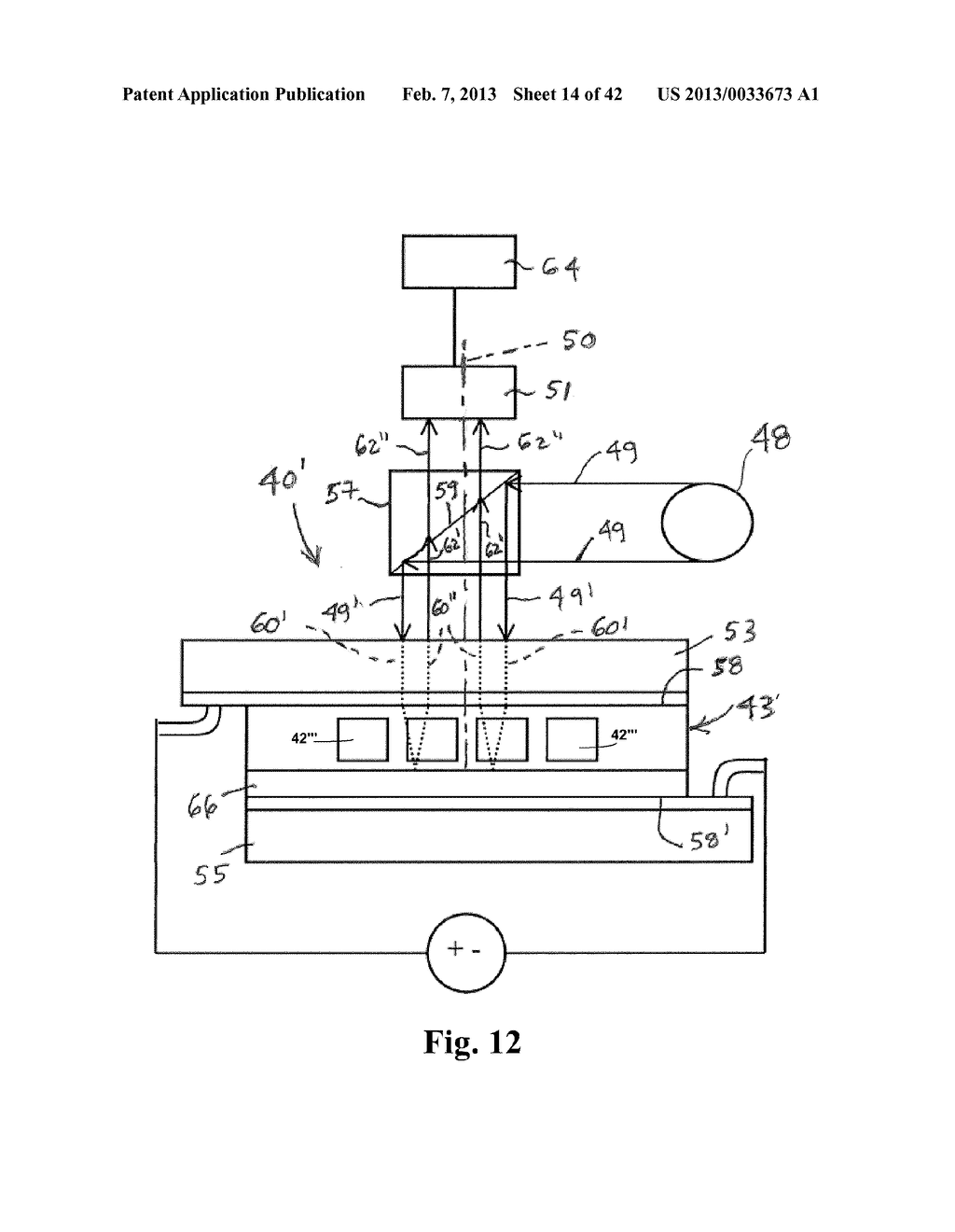 METHOD AND APPARATUS FOR TESTING OPERATION OF AN OPTICAL LIQUID CRYSTAL     DEVICE - diagram, schematic, and image 15