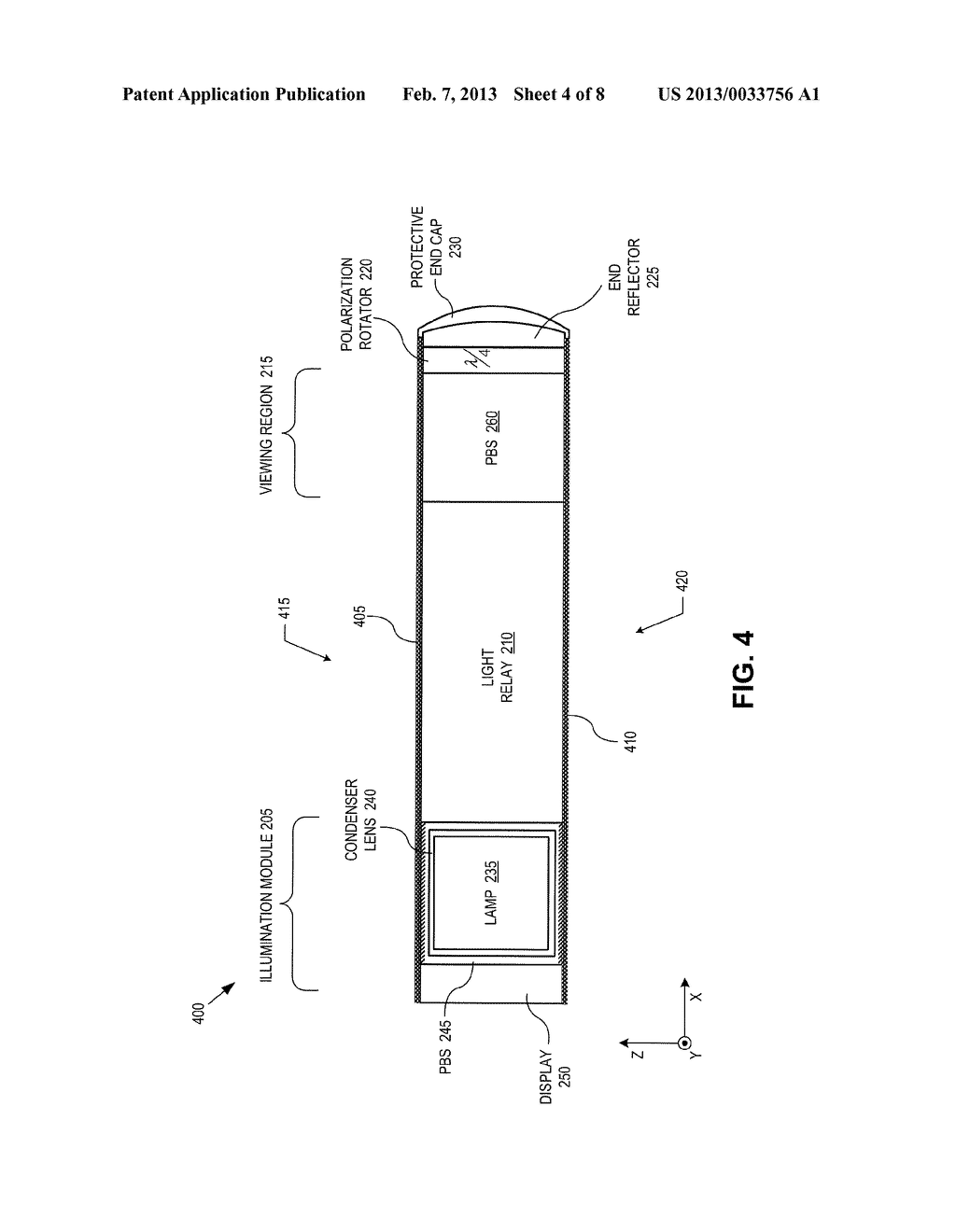 METHOD AND APPARATUS FOR A NEAR-TO-EYE DISPLAY - diagram, schematic, and image 05