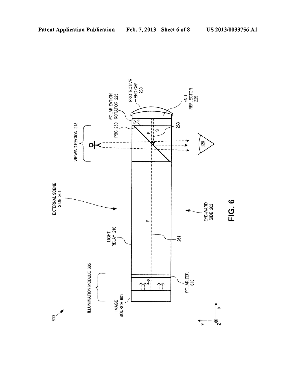 METHOD AND APPARATUS FOR A NEAR-TO-EYE DISPLAY - diagram, schematic, and image 07
