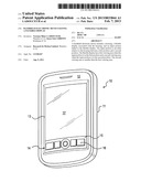 HANDHELD ELECTRONIC DEVICE HAVING A FLEXIBLE DISPLAY diagram and image