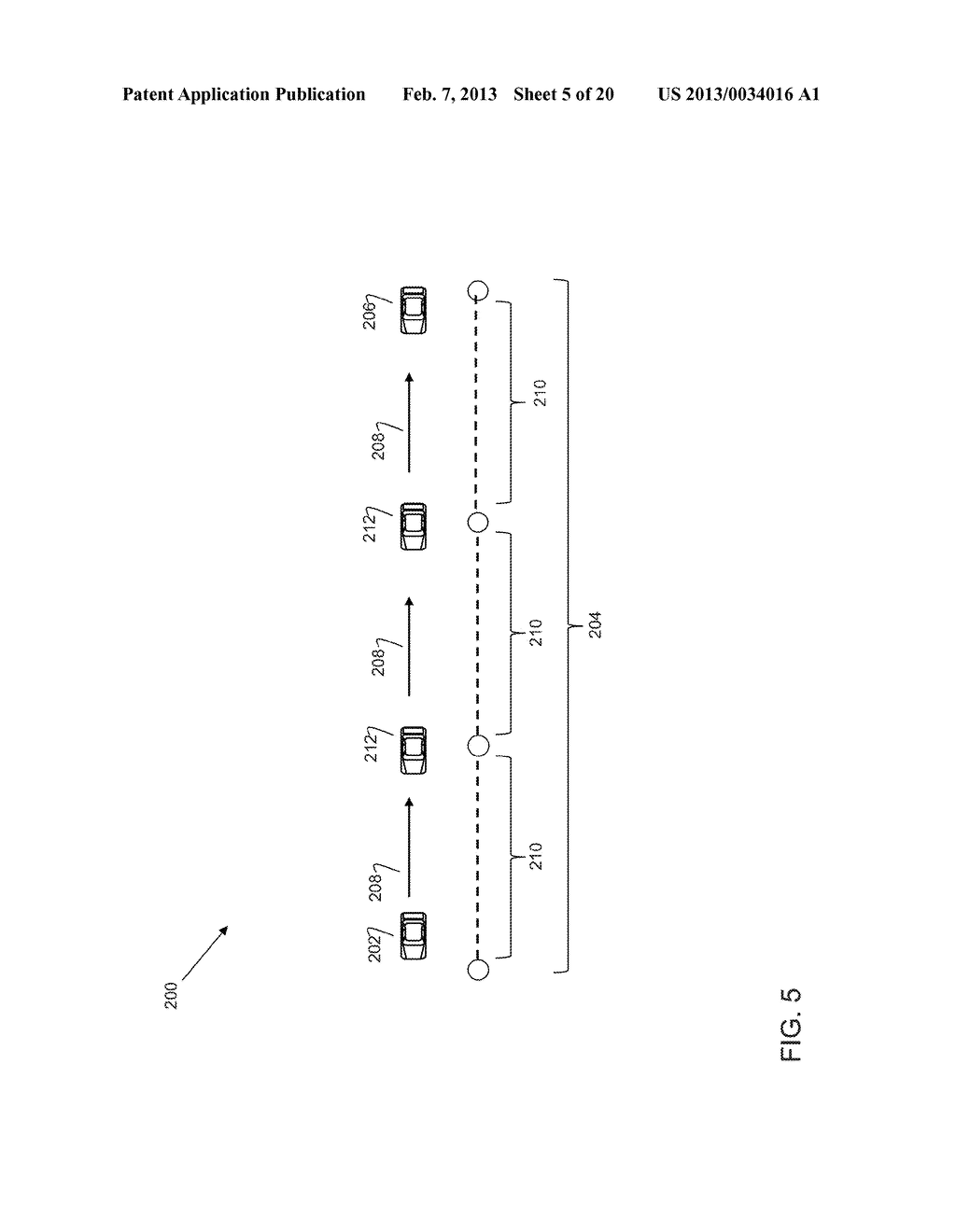 METHOD AND SYSTEM FOR TRANSFERRING INFORMATION IN VEHICULAR WIRELESS     NETWORKS - diagram, schematic, and image 06