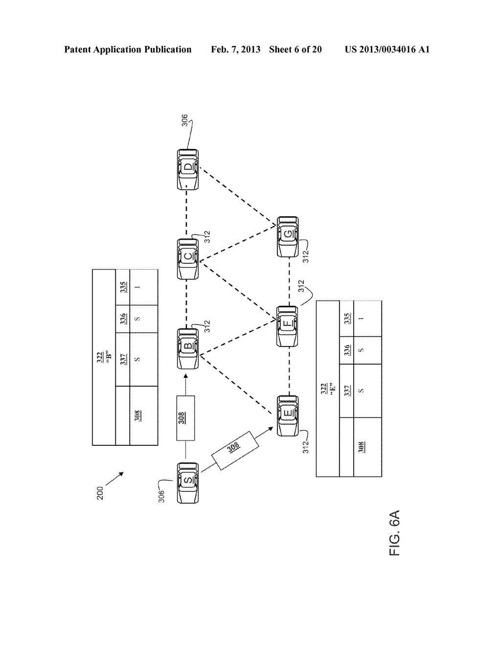 METHOD AND SYSTEM FOR TRANSFERRING INFORMATION IN VEHICULAR WIRELESS     NETWORKS - diagram, schematic, and image 07