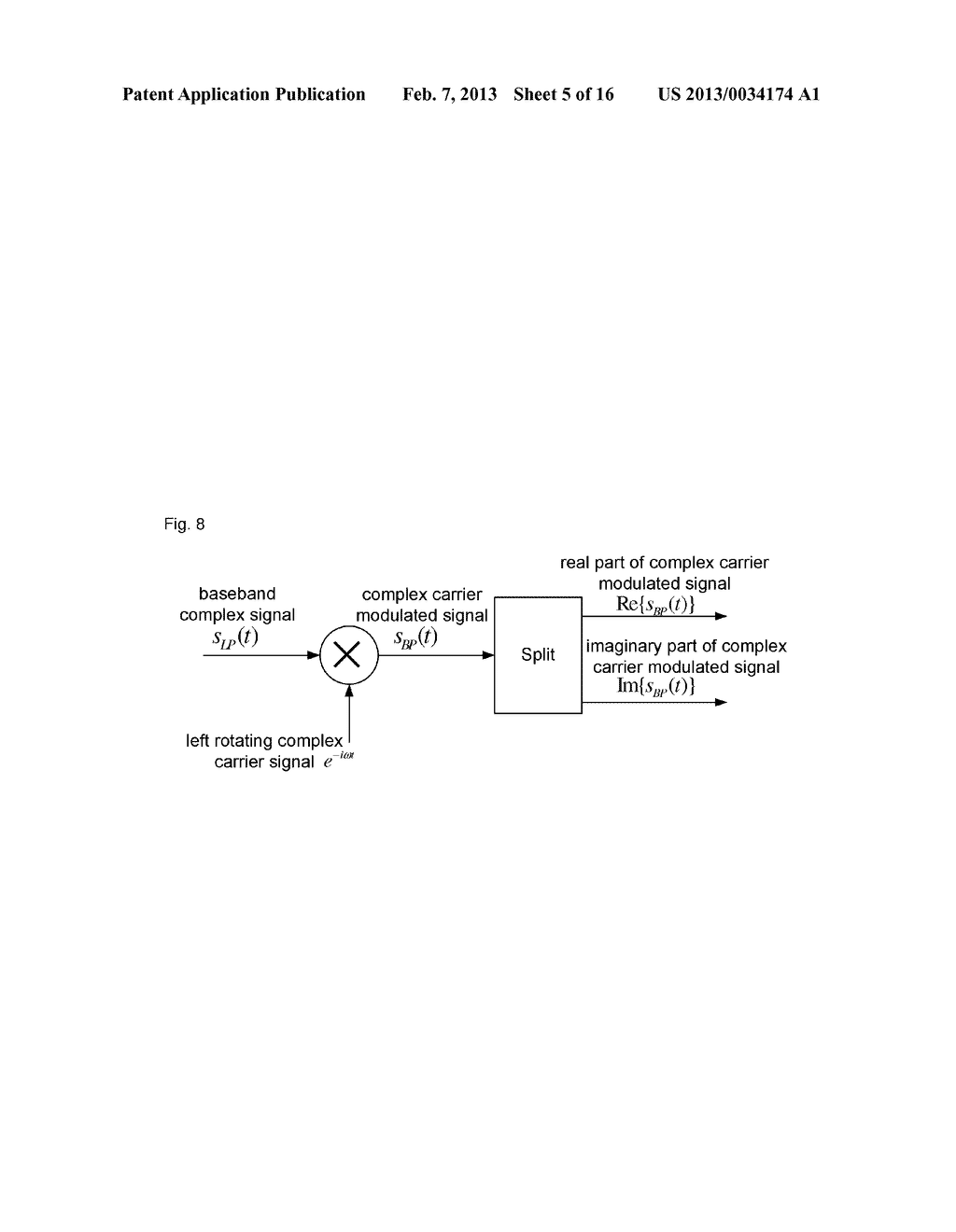 Method, device and system for complex carrier modulation - diagram, schematic, and image 06
