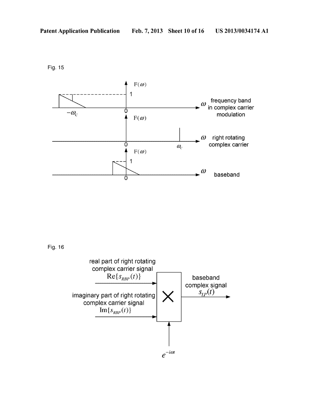 Method, device and system for complex carrier modulation - diagram, schematic, and image 11