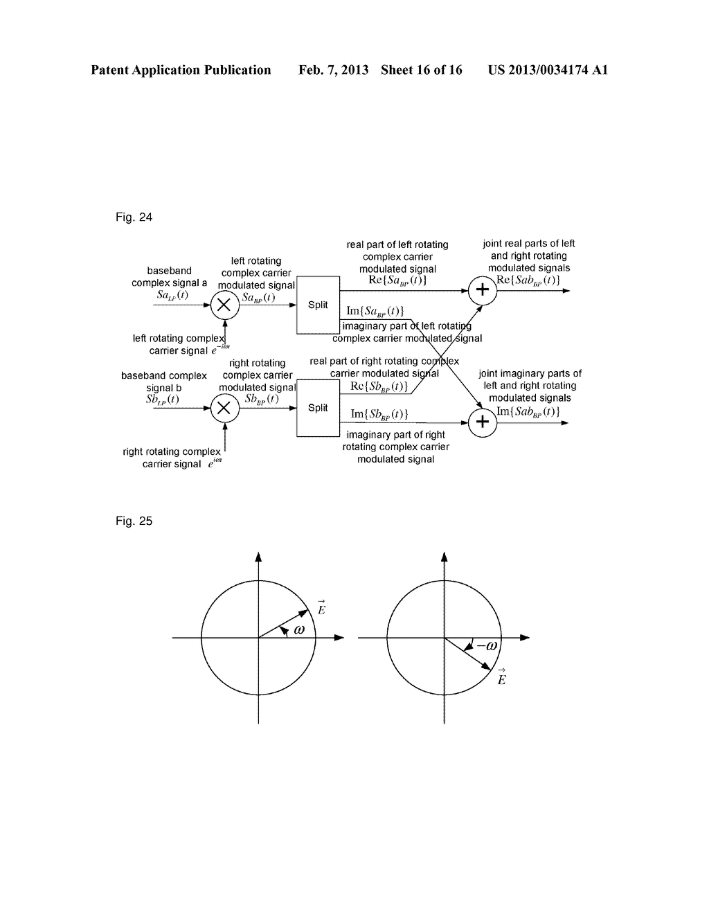 Method, device and system for complex carrier modulation - diagram, schematic, and image 17