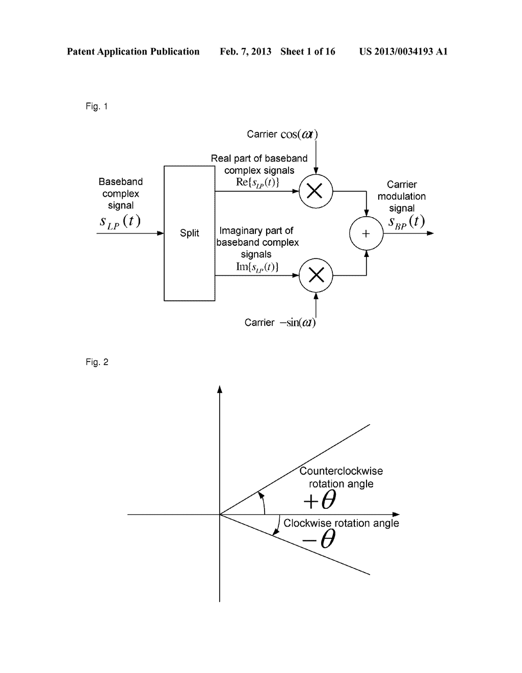 method and device for demodulating complex carriers - diagram, schematic, and image 02