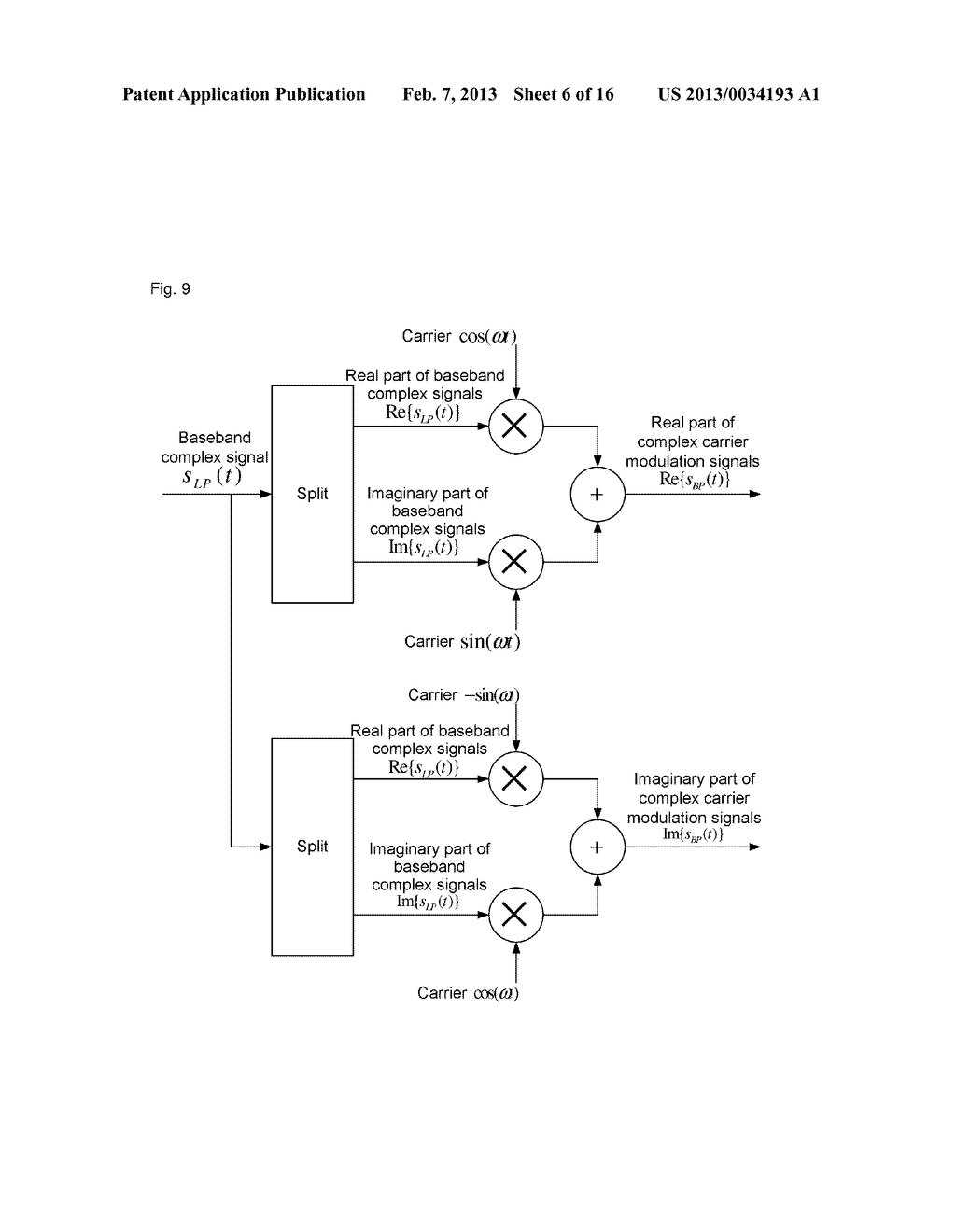 method and device for demodulating complex carriers - diagram, schematic, and image 07