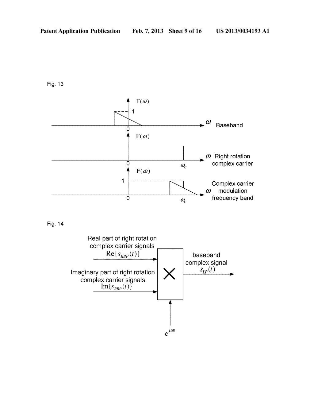 method and device for demodulating complex carriers - diagram, schematic, and image 10
