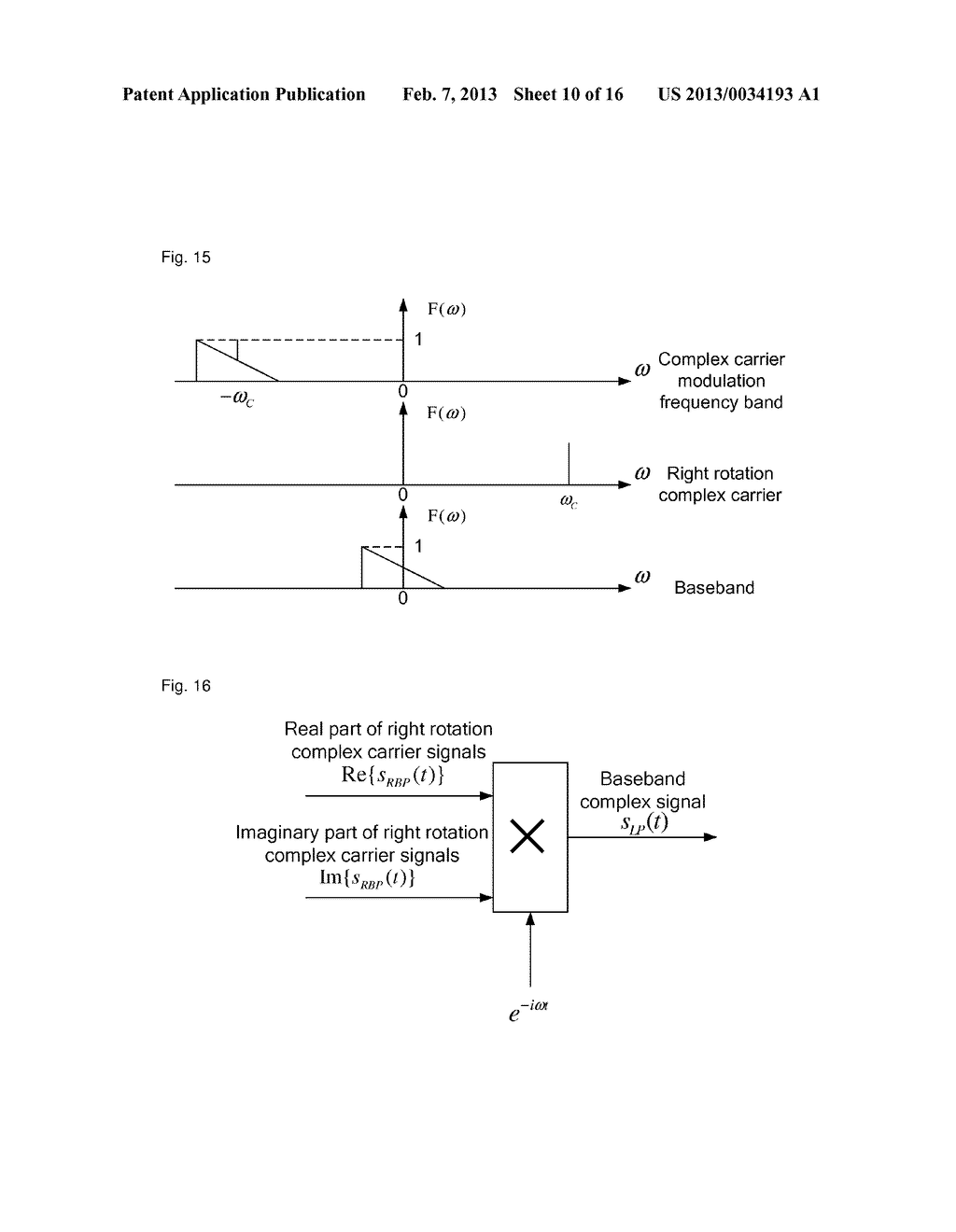 method and device for demodulating complex carriers - diagram, schematic, and image 11