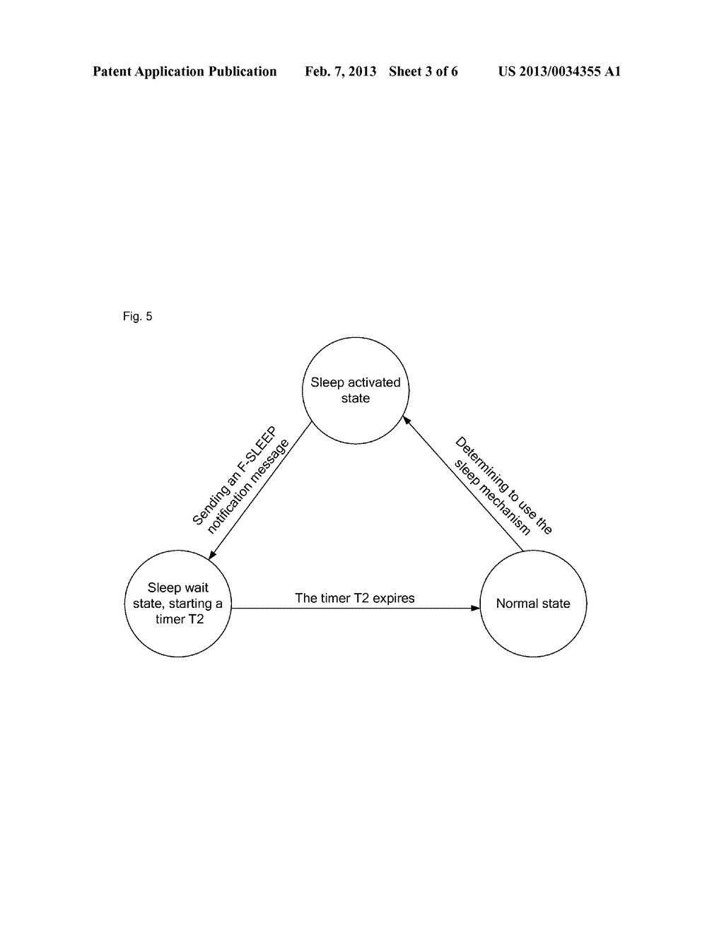 Method and system for realizing power saving mechanism management between     optical network unit (ONU) and optical line terminal (OLT) - diagram, schematic, and image 04