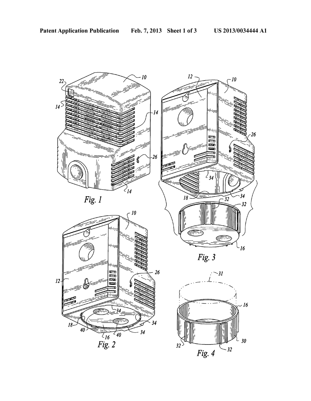 Dispensing system for odor control with fan - diagram, schematic, and image 02