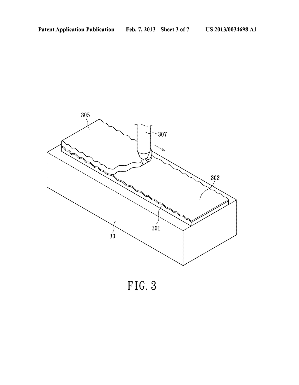 METHOD FOR MANUFACTURING FLEXIBLE SUBSTRATE WITH SURFACE STRUCTURE COPYING     FROM A TEMPLATE - diagram, schematic, and image 04