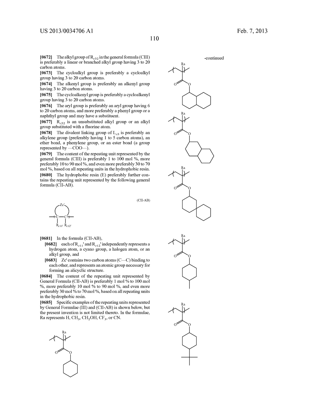 PATTERN FORMING METHOD, ACTINIC RAY-SENSITIVE OR RADIATION-SENSITIVE RESIN     COMPOSITION, RESIST FILM, PRODUCTION METHOD OF ELECTRONIC DEVICE, AND     ELECTRONIC DEVICE - diagram, schematic, and image 115