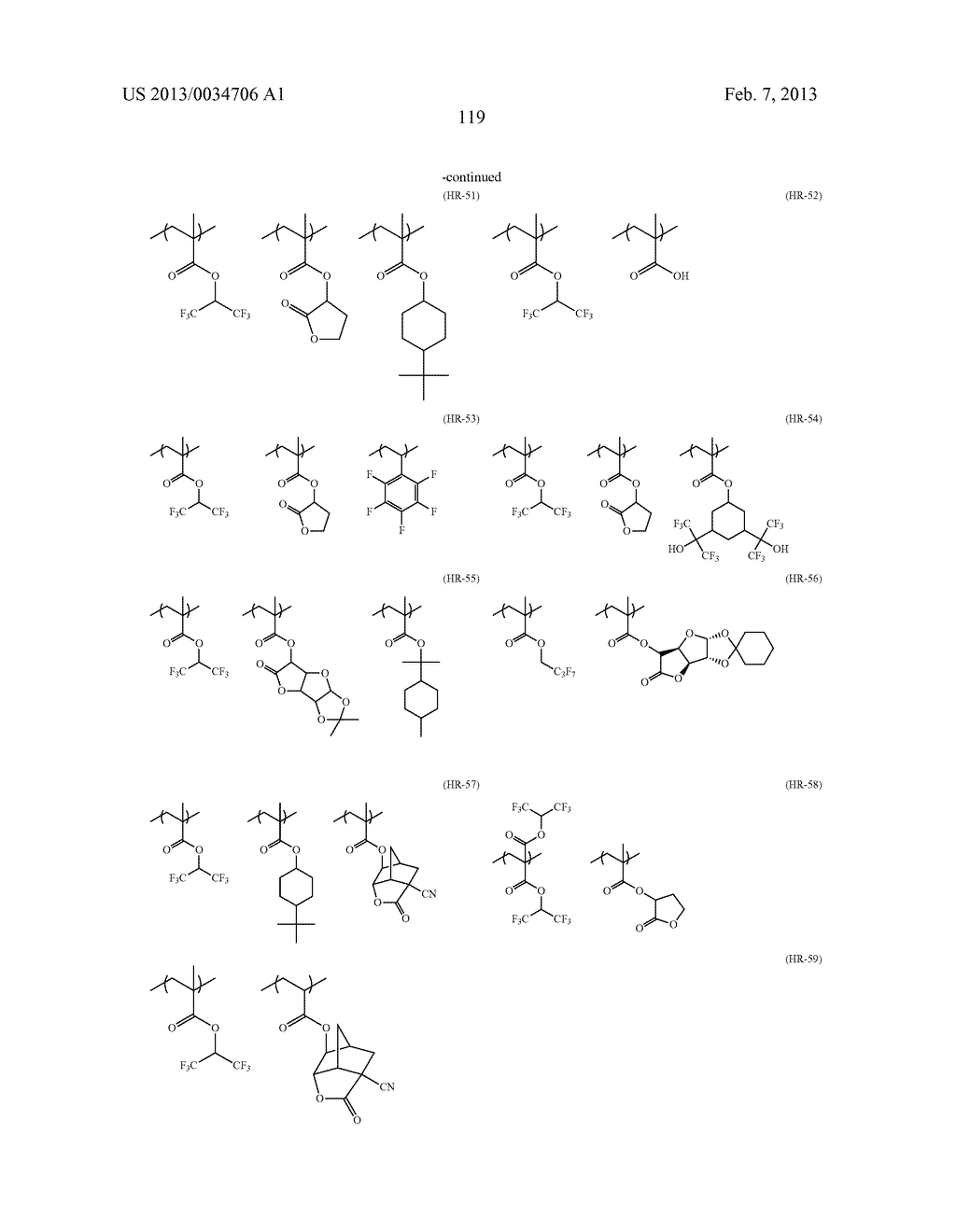 PATTERN FORMING METHOD, ACTINIC RAY-SENSITIVE OR RADIATION-SENSITIVE RESIN     COMPOSITION, RESIST FILM, PRODUCTION METHOD OF ELECTRONIC DEVICE, AND     ELECTRONIC DEVICE - diagram, schematic, and image 124