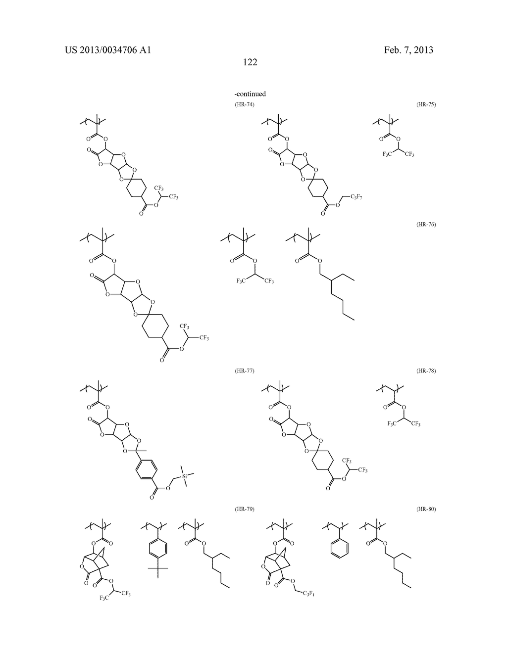 PATTERN FORMING METHOD, ACTINIC RAY-SENSITIVE OR RADIATION-SENSITIVE RESIN     COMPOSITION, RESIST FILM, PRODUCTION METHOD OF ELECTRONIC DEVICE, AND     ELECTRONIC DEVICE - diagram, schematic, and image 127